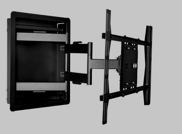In Wall Tv Mounts Flush In Wall Recessed Articulating